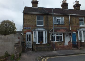 Thumbnail 2 bed end terrace house for sale in Kings Road, Faversham