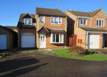 Thumbnail 3 bedroom detached house to rent in Wensum Close, Watlington, King's Lynn