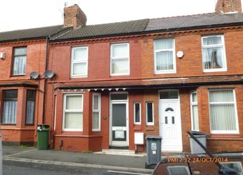Thumbnail 3 bedroom terraced house to rent in Exeter Road, Wallasey