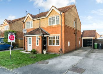 Thumbnail 2 bedroom semi-detached house for sale in Morehall Close, York, North Yorkshire