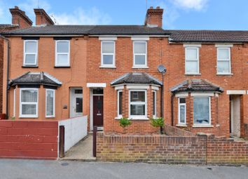 Thumbnail 2 bed terraced house for sale in Holly Road, Aldershot, Hampshire