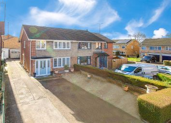 Thumbnail 3 bed semi-detached house for sale in Wicksteed Close, Kettering