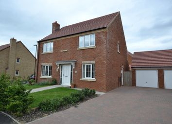 Thumbnail 4 bedroom detached house to rent in Hyde Park, Padnal, Littleport, Ely