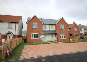 Thumbnail 3 bed semi-detached house for sale in Quarry Field, Lugwardine, Hereford