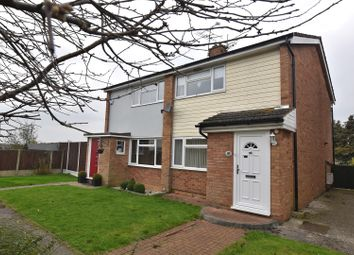 Thumbnail 2 bed semi-detached house for sale in Laburnum Way, Witham