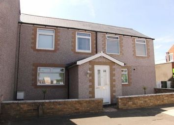 Thumbnail 4 bed semi-detached house for sale in Milburn Road, Ashington