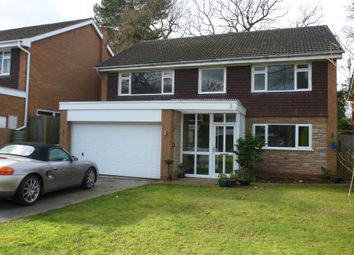 Thumbnail 4 bed property to rent in Kimberley Close, Streetly, Sutton Coldfield