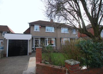 Thumbnail 3 bedroom semi-detached house for sale in Elmfield Grove, Gosforth, Newcastle Upon Tyne