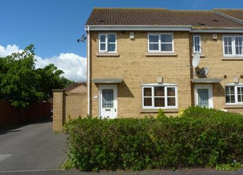 Thumbnail 3 bed end terrace house to rent in Cheddon Mews, Taunton, Somerset