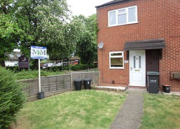 Thumbnail 2 bedroom end terrace house to rent in Ruffets Wood, Gravesend