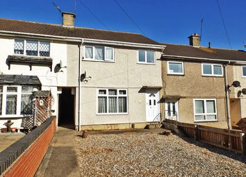 Thumbnail 3 bed terraced house for sale in Shield Crescent, Glen Parva, Leicester