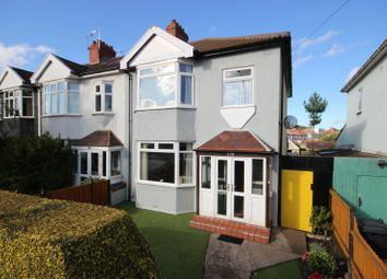 Thumbnail 3 bed end terrace house for sale in Wellington Hill West, Henleaze, Bristol