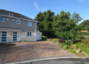 Thumbnail 3 bed semi-detached house for sale in The Dell, Plymouth, Devon