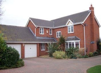 Thumbnail 4 bed detached house to rent in Normanton Road, Crowland, Peterborough