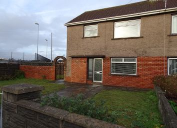 Thumbnail 3 bed semi-detached house for sale in Southdown View, Sandfields Estate, Port Talbot, Neath Port Talbot.