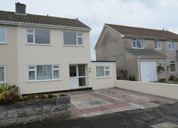 Thumbnail 4 bed semi-detached house for sale in Dennison Avenue, Boscoppa, St. Austell