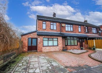 Thumbnail 4 bed semi-detached house for sale in Limekiln Lane, Church Lawton, Staffordshire