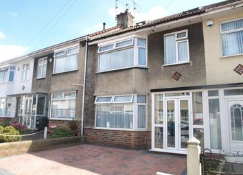 Thumbnail 4 bedroom terraced house for sale in Woodside Road, St. Annes Park, Bristol