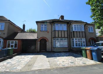 Thumbnail 3 bed semi-detached house to rent in Hawthorne Drive, Harrow