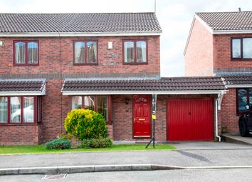 Thumbnail 3 bed semi-detached house for sale in Ffos Y Cerridden, Nelson, Treharris