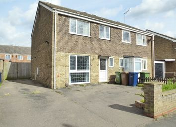 Thumbnail 3 bed semi-detached house for sale in High Road, Tholomas Drove, Wisbech St. Mary, Wisbech