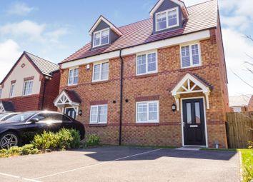 Thumbnail 3 bed semi-detached house for sale in Farm Croft Drive, Warrington