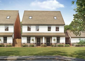 "Thumbnail 3 bed terraced house for sale in ""Knighton"" at Hamble Lane, Bursledon, Southampton"