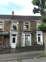 Thumbnail 3 bed terraced house to rent in Approach Road, Swansea
