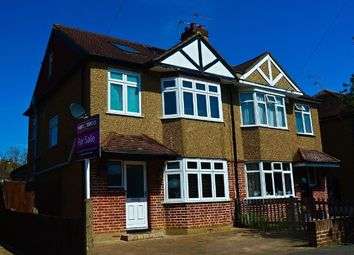 Thumbnail 4 bed semi-detached house for sale in Pavilion Gardens, Staines-Upon-Thames