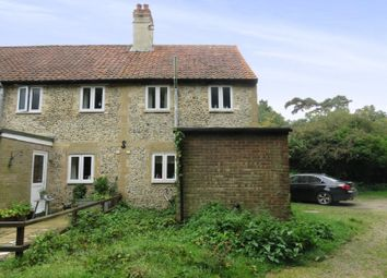 Thumbnail 2 bed end terrace house for sale in Flint Cottages, Bury Road, Kentford, Newmarket, Suffolk