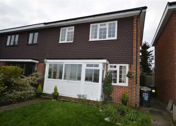 Thumbnail 3 bed semi-detached house for sale in Dorrofield Close, Croxley Green, Hertfordshire