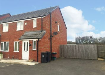 Thumbnail 3 bed semi-detached house for sale in Greylag Gate, Newcastle, Staffordshire