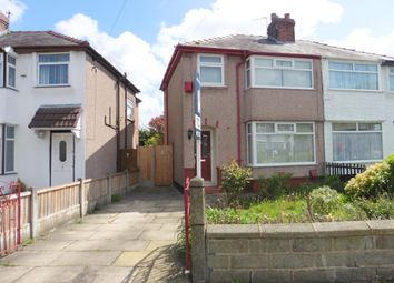 Thumbnail 3 bed semi-detached house for sale in Merton Close, Huyton, Liverpool