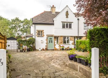 Thumbnail 4 bed semi-detached house for sale in Scott Hall Road, Leeds, West Yorkshire