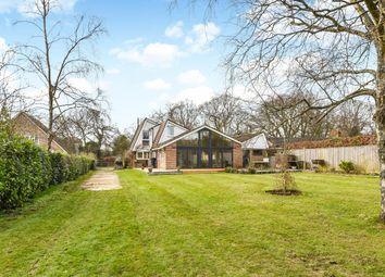 Thumbnail 4 bed detached house for sale in Upper Anstey Lane, Shalden, Hampshire
