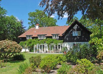 Clough Lane, Burley, Ringwood BH24. 4 bed detached house