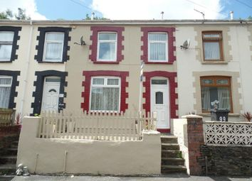 Thumbnail 2 bed terraced house for sale in Bryntaf, Aberfan, Merthyr Tydfil