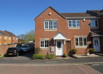 Thumbnail 2 bed end terrace house to rent in Fremantle Drive, Cannock