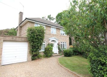 Thumbnail 4 bed link-detached house for sale in Christchurch Close, Church Crookham, Fleet