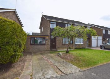Thumbnail 3 bed semi-detached house for sale in Keats Close, Newport Pagnell
