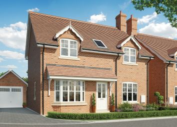 Thumbnail 4 bedroom detached house for sale in The Willows, Swallowfield, Reading