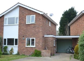 Thumbnail 3 bedroom link-detached house for sale in Manor Road, Wokingham, Berkshire