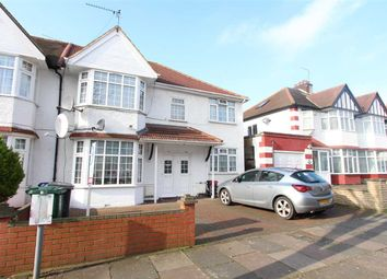 Thumbnail 4 bed semi-detached house to rent in Fairfield Crescent, Edgware