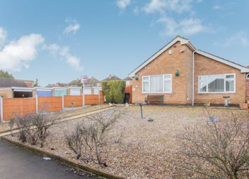 Thumbnail 3 bed detached bungalow for sale in Hazelbank Close, Leicester