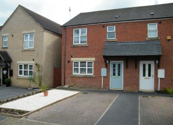 Thumbnail 2 bed semi-detached house for sale in Harris Way, Grantham