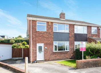 Thumbnail 3 bed semi-detached house for sale in Stuart Close, Chesterfield