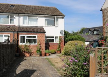 Thumbnail 3 bed semi-detached house to rent in Churchway, Haddenham, Aylesbury