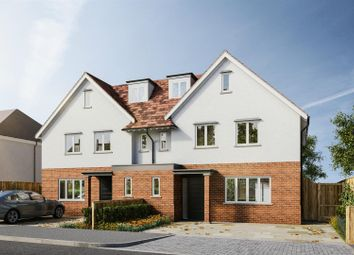 Thumbnail 4 bedroom semi-detached house for sale in Herkomer Road, Bushey