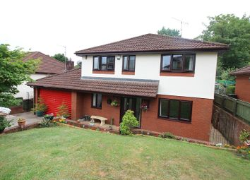 Thumbnail 4 bed detached house for sale in Brooklea, Caerleon, Newport.