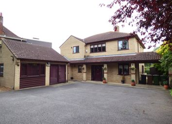 Thumbnail 4 bed detached house for sale in Oundle Road, Orton Longueville